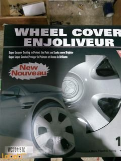 ENJOLIVEUR Wheel Cover - 4 pieces - silver color - WC 70115 TO