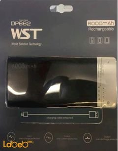 Wst power bank - 6000mAh - Gold color - DP662 model