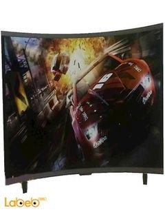 Dansat 4K UHD Curve LED Television - 55 Inch - black - DTC55BU
