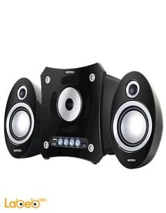 Intex 2.1 Multimedia Speakers - 16W - USB port - Black - IT-900