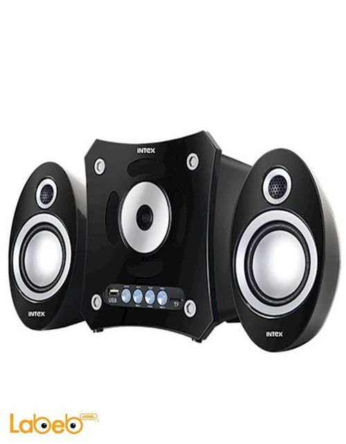 سماعات 2.1 انتيكس 16 واط منفذ USB لون أسود موديل IT-900