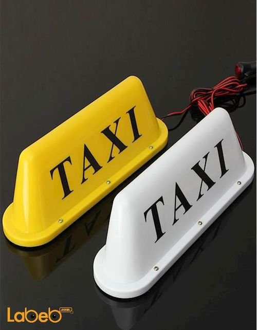 Taxi Lamp for Automobiles universal 12v white color