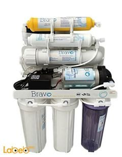 Bravo water filter System - 6 Stages - 10 Liter - white color