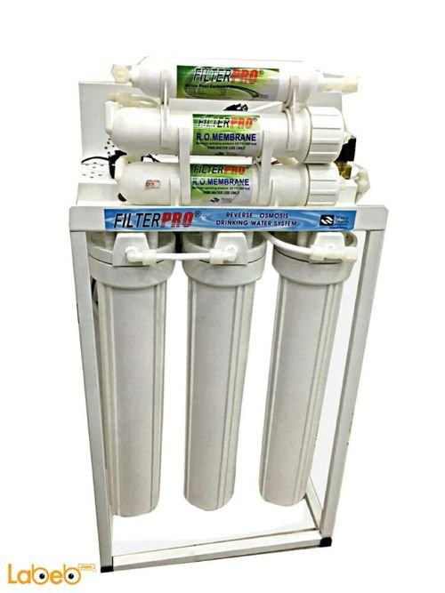 Filter pro 200 GPD RO System 48L white color