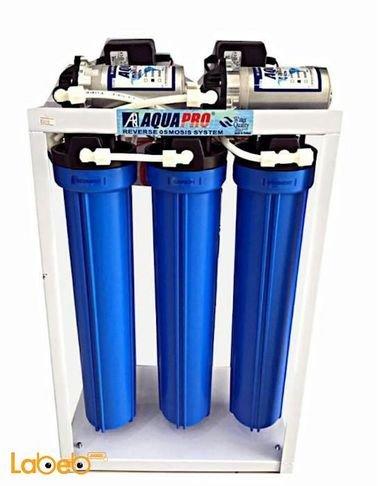 فلتر إزالة الشوائب والكربون أكوابرو - 48 لتر - أزرق - ARO-200GPD