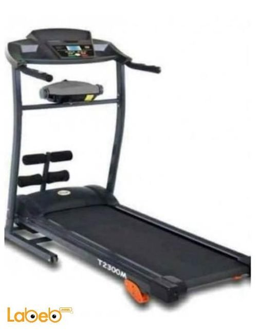 جهاز مشي كهربائي world fitness قوة 2 حصان وزن أقصى 120 كغم