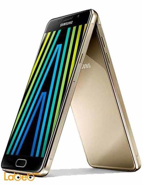 Gold Samsung Galaxy A7(2016) smartphone