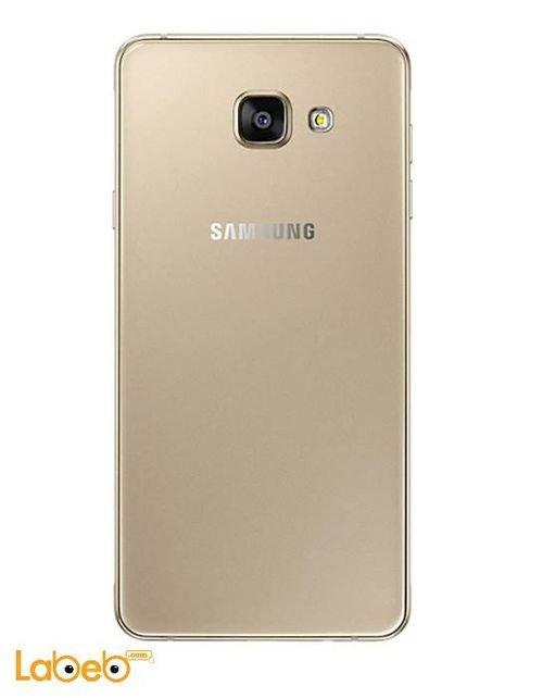 Samsung Galaxy A7(2016) smartphone back Gold