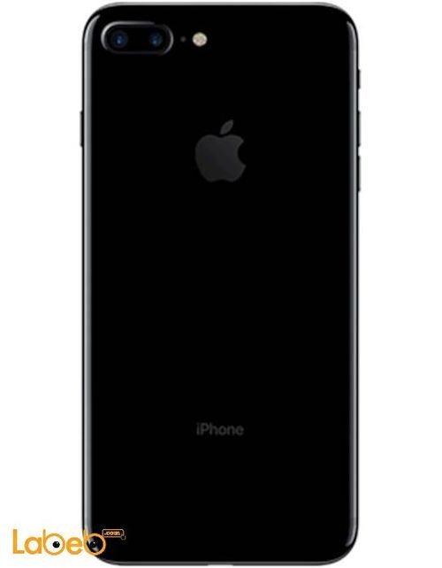 Apple Iphone 7 Plus back smartphone Jet Black color