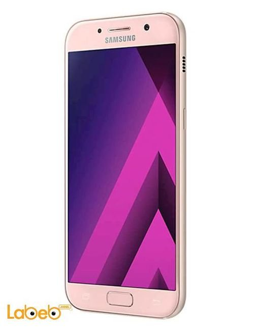 Right View Samsung Galaxy A5 (2017) smartphone 32GB 5.2inch Pink SM-A520F