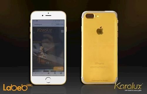 Apple Iphone 7 plus gilded gold