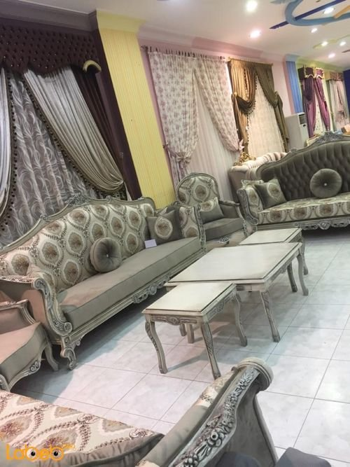 Sofa Set 9 seats Turkish Fabric