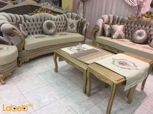 American Sofa Set 5pieces Brown