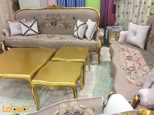 Sofa Set pink color