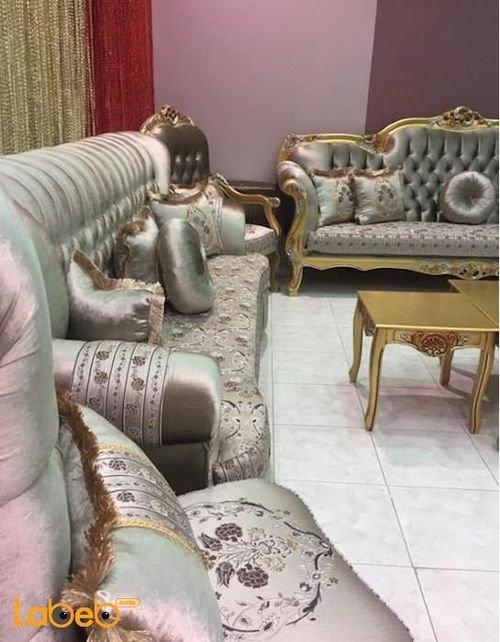 American Sofa Set 6 pieces Tables Set