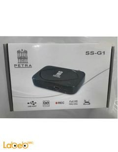 Petra SS-G1 Receiver - Full HD - USB 2.0 - 4000 Channels - Black