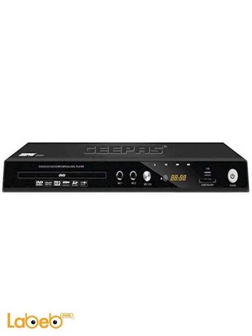 GEEPAS HDMI DVD player USB Black color GDVD9319 model