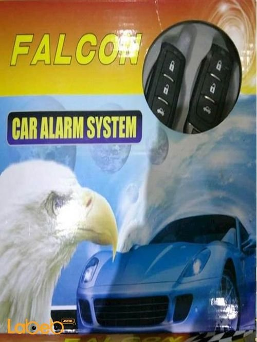 Falcon car alarm system Black electronic lock