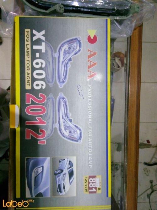 AAA Fog lamp for acnt 27Watt XT_606 2012
