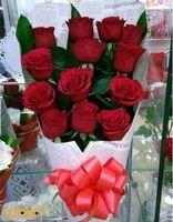بوكية ورد جوري أحمر