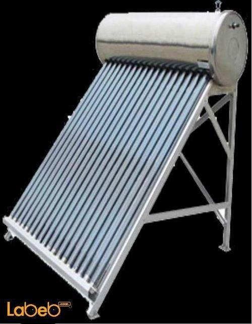 سخان شمسي لافا سعة 200 لتر 18 أنبوب 2 ملم مجلفن