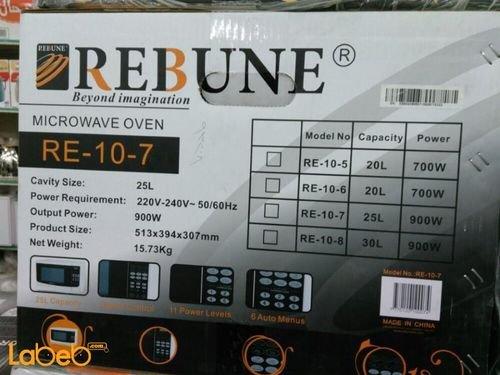 Rebune Microwave Oven 25L 900W White color RE_10_7 model