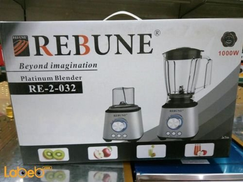 Rebune Platinum Blender 1000W 1.8L Stainless steel RE_2_032