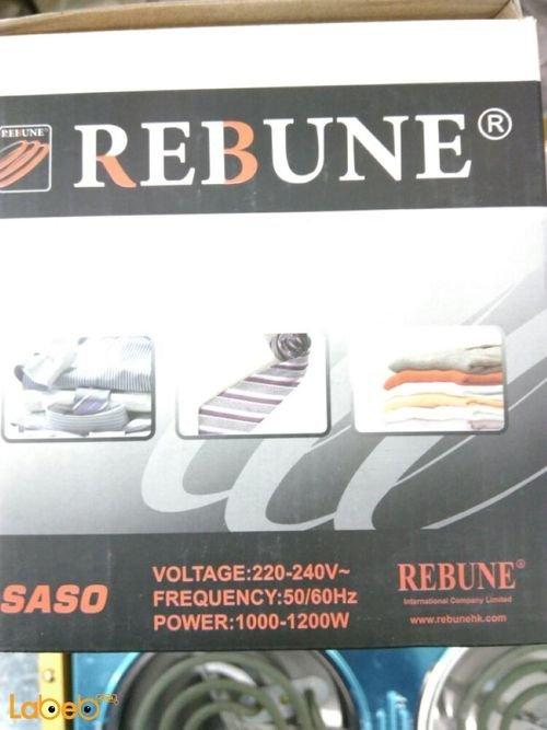 مكوى بخار جاف كهربائية REBUNE قدرة 1000-1200 واط ذهبي موديل RE_3_020