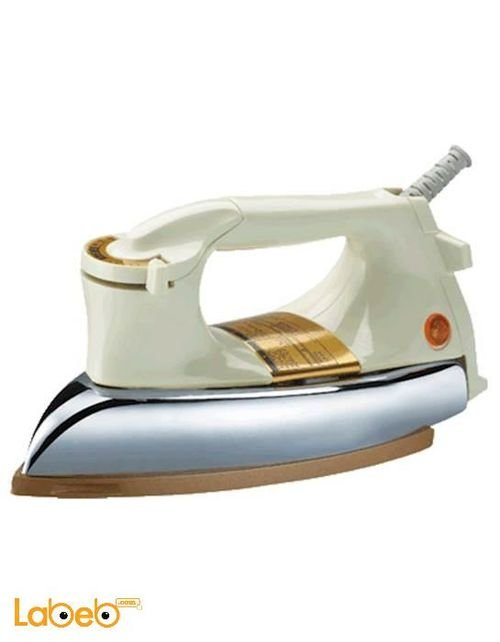 Rebune Electric Dry Iron 1000-1200Watt Gold RE_3_020 model