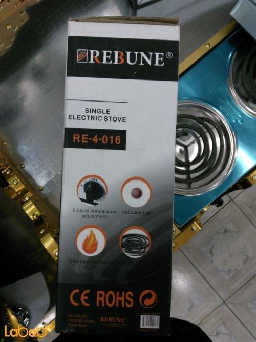 طباخ كهربائي مسطح REBUNE قدرة 1000 واط 3 شعلات RE_4_016
