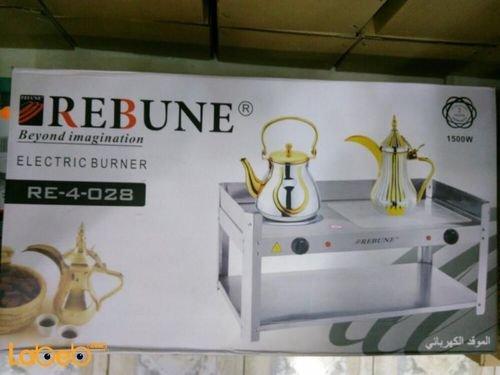 موقد كهربائي REBUNE قوة 1500 واط أبيض RE_4_028