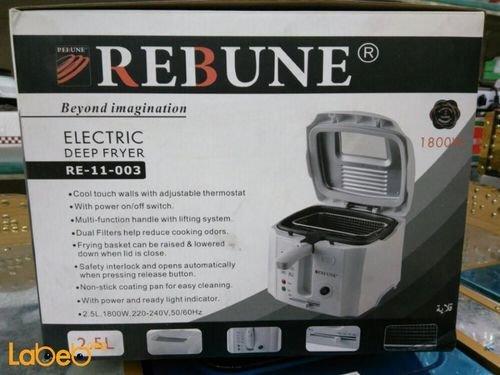 Rebune deep fryer 2.5L 1800W White RE_11_003