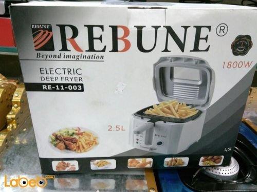 Rebune deep fryer RE_11_003 2.5L 1800W White