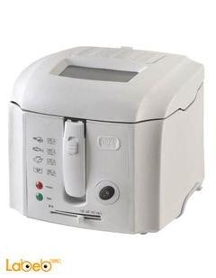 قلاية كهربائية REBUN - سعة 2.5 لتر - 1800 واط - أبيض - RE_11_003