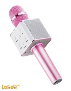 MICGEEk Wireless Microphone Karaoke - Pink - JL GS.Q9 model