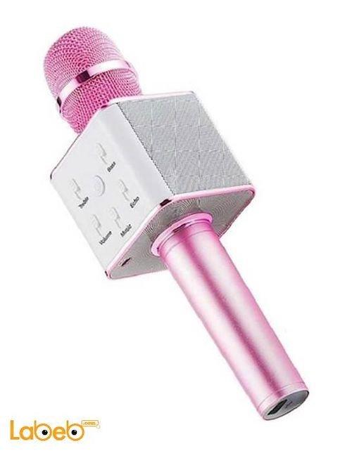 MICGEEk Wireless Microphone Karaoke Pink JL GS.Q9 model