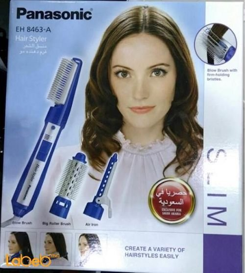 Panasonic Hair Styler 650Watt Blue color EH8463_A