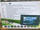مسجل للسيارة مع شاشة لمس أتش دي نظام GPS لون أسود موديل T50
