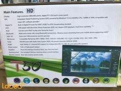 مسجل للسيارة مع شاشة لمس أتش دي - نظام GPS - لون أسود - موديل T50