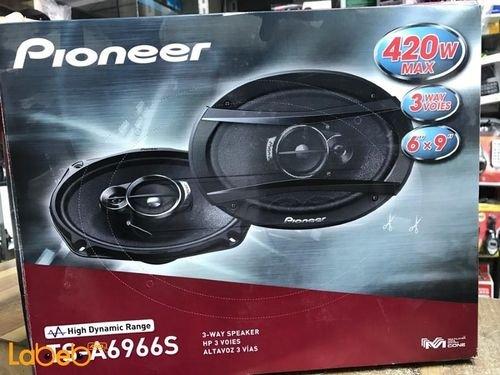 Pioneer 3-way Speaker 420Watt 6x9inch Black TS-A6966S model