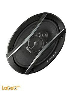 Pioneer 3-way Speaker - 420W - 6x9inch - Black - TS-A6966S model