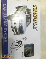 THUNDER Car Alarm System Remote Control Black Color C085X Model