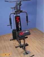 جهاز رياضي هوم جيم Mpulse متعدد الإستعمال جلد أسود موديل 102