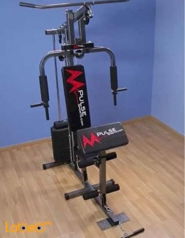 Mpulse Home Gym - For total body strength - black leather -102 model