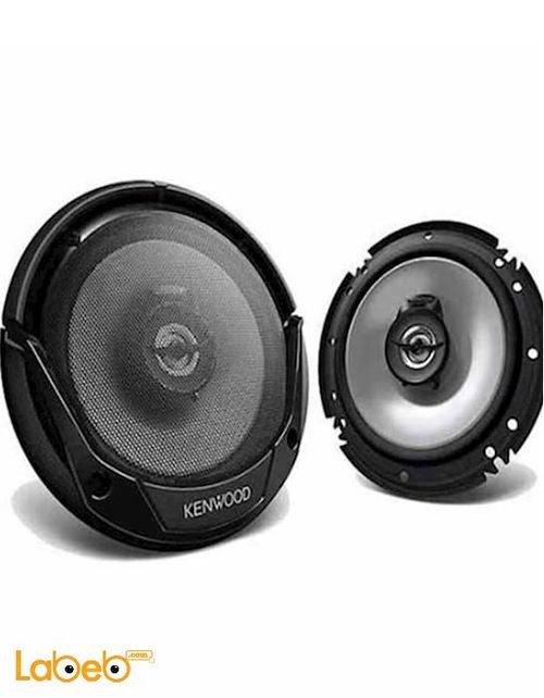 سماعات كينوود بيضاوية 300واط أسود KFC-E1655