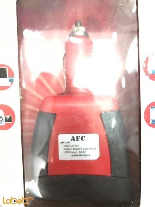 Car Inverter AFC For Car Red color