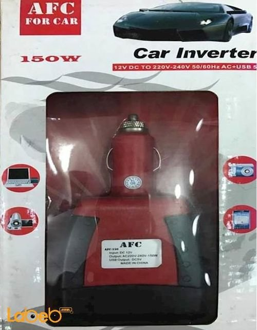 Car Inverter AFC For Car Red color 150W model
