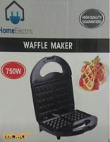 Home Electric Waffle Maker 750W black color HWM-488
