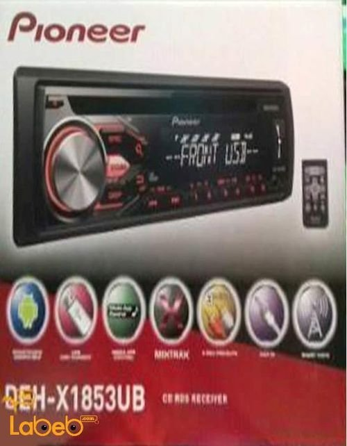 Pioneer CAR RECEIVER CD-AUX-USB  DEH-X1853UB