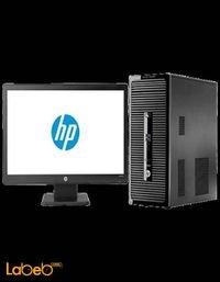 كمبيوتر مكتبي اتش بي اي5 4 جيحا رام رمادي موديل HP 400 G2